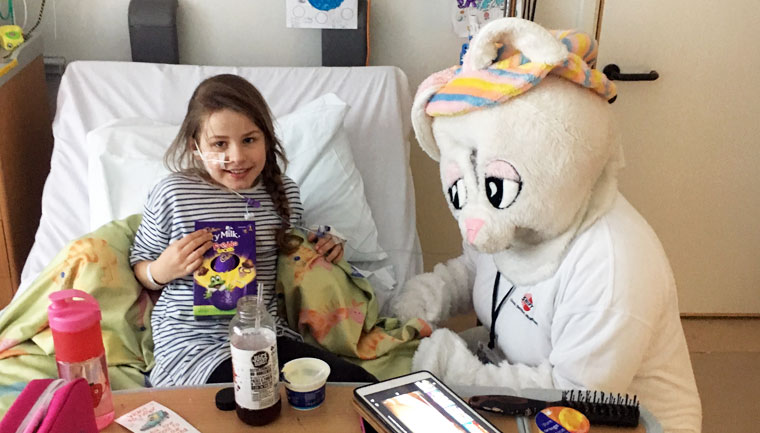 Bringing Easter 2019 to the Children's Wards of Oxfordshire, Berkshire and Wiltshire